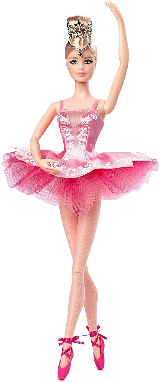 Купить Кукла Барби Коллекционная Балерина (Barbie Signature Ballet Wishes Doll) от