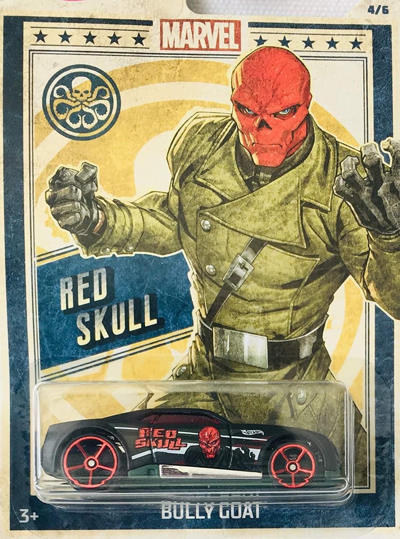 Купить Коллекционная Машинка Хот Вилс Hot Wheels Marvel Bully GoatFYY61 от