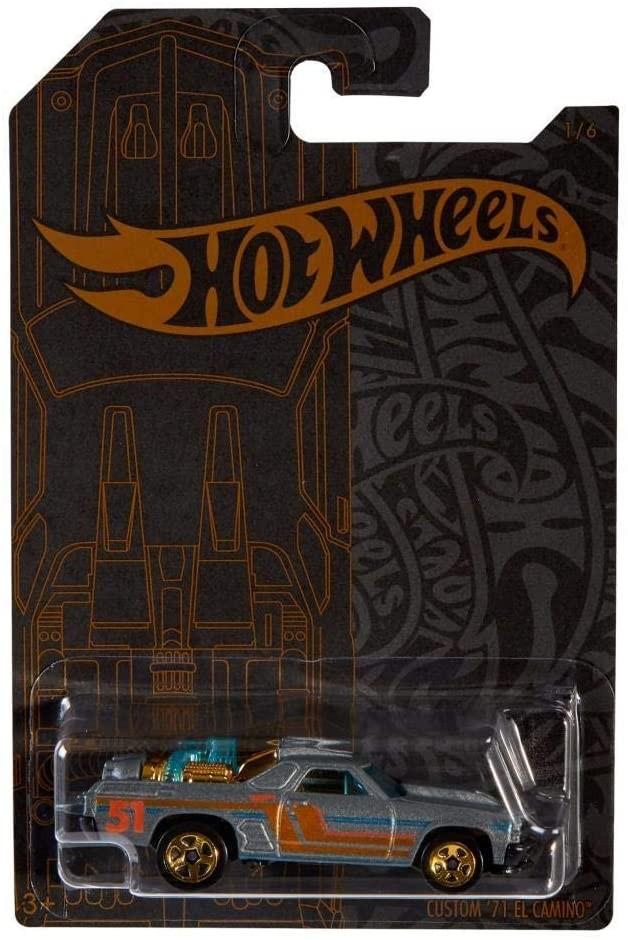 Купить Коллекционная Машинка  Хот Вилс  Hot Wheels Custom '71 EL CAMINO  51st Anniversary от
