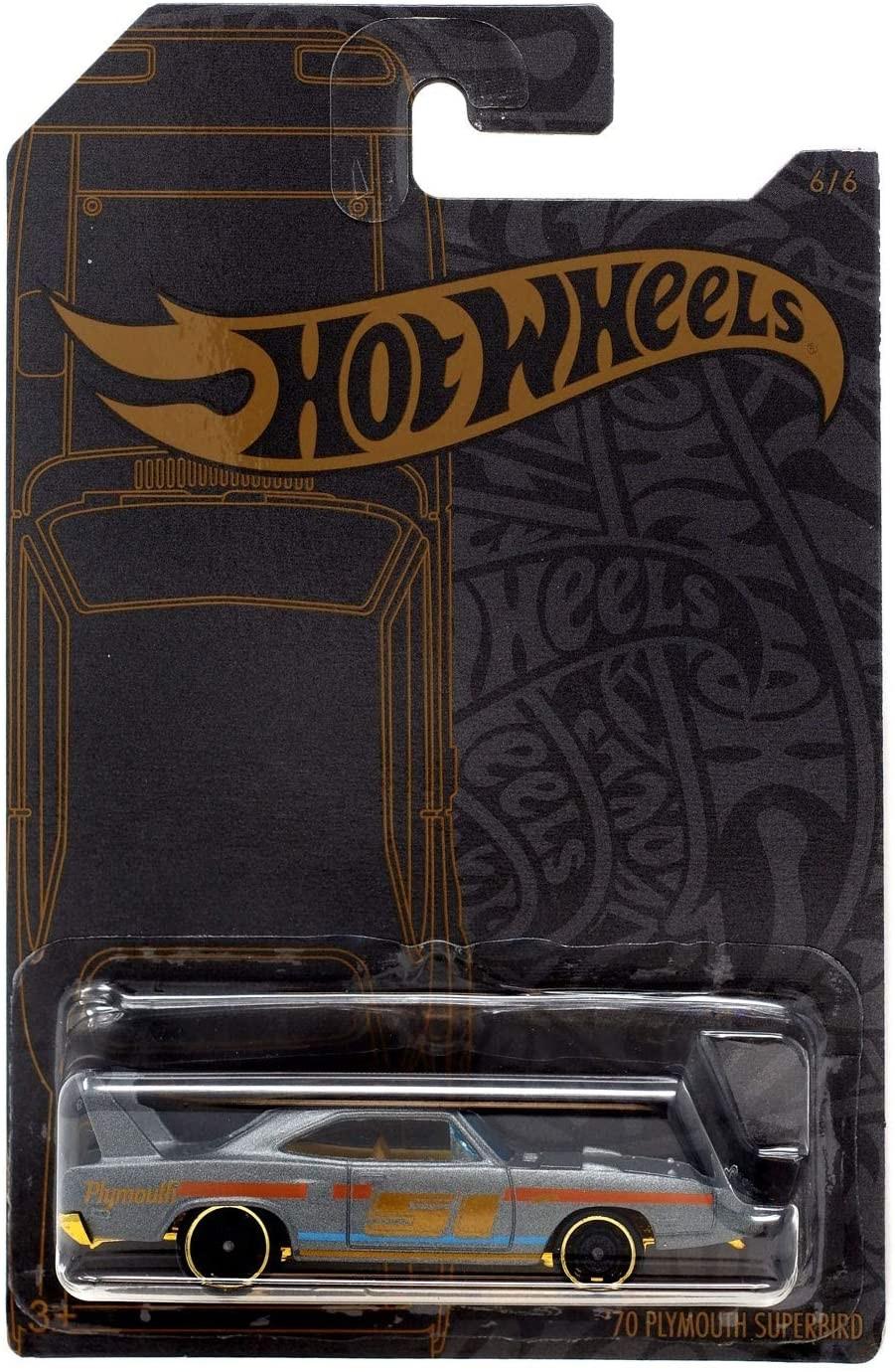 Купить Коллекционная Машинка Хот Вилс Hot Wheels '70 PLYMOUTH SUPERBIRD 51st Anniversary от