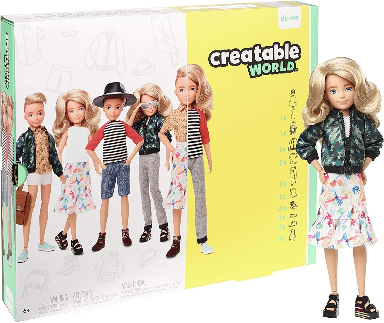 Купить Кукла Creatable World Создаваемый Мир со светлыми волнистыми волосами (Creatable World Deluxe Character Kit) от