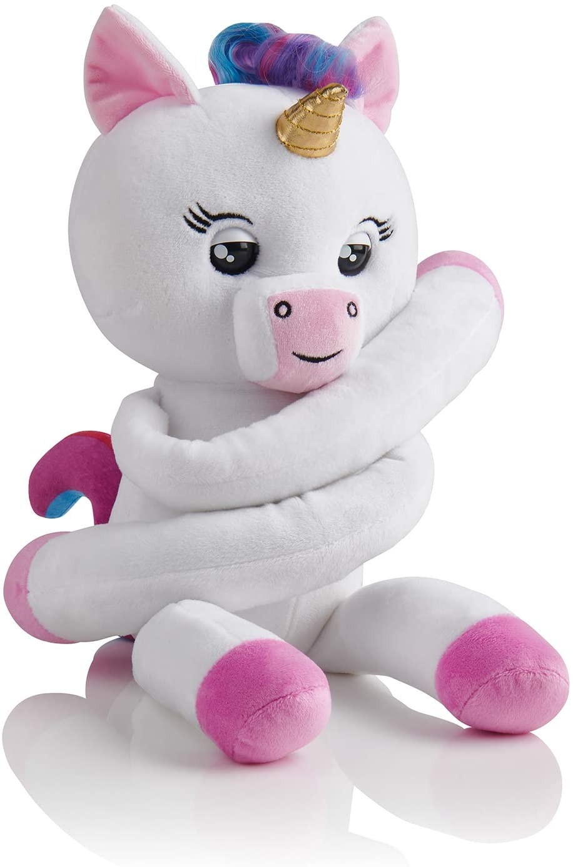 Купить WowWee Fingerlings  Интерактивный мягкий единорог-обнимашка Джиджи (WowWee Fingerlings HUGS - Gigi Unicorn) от
