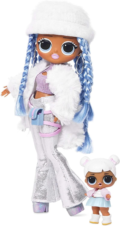 Купить Кукла ЛОЛ Зимнее Диско  L.O.L. Surprise! O.M.G. Winter Disco Snowlicious Fashion Doll & Sister от