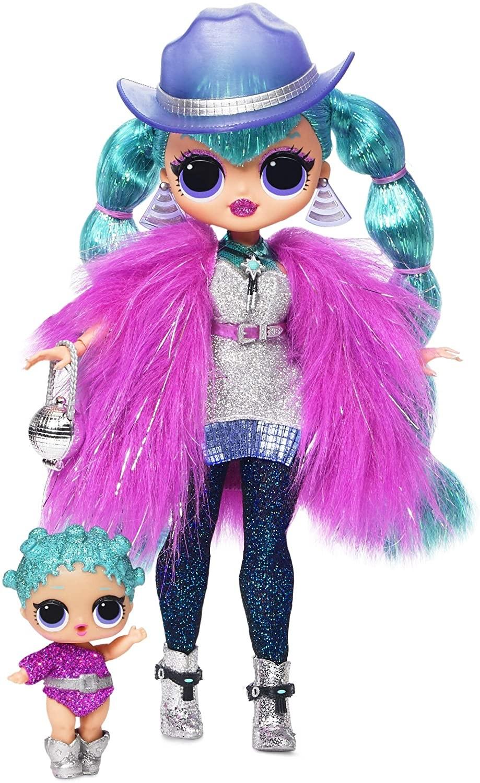 Купить Кукла ЛОЛ  Космик Нова Зимнее Диско  L.O.L. Surprise! O.M.G. Winter Disco Cosmic Nova Fashion Doll & Sister от