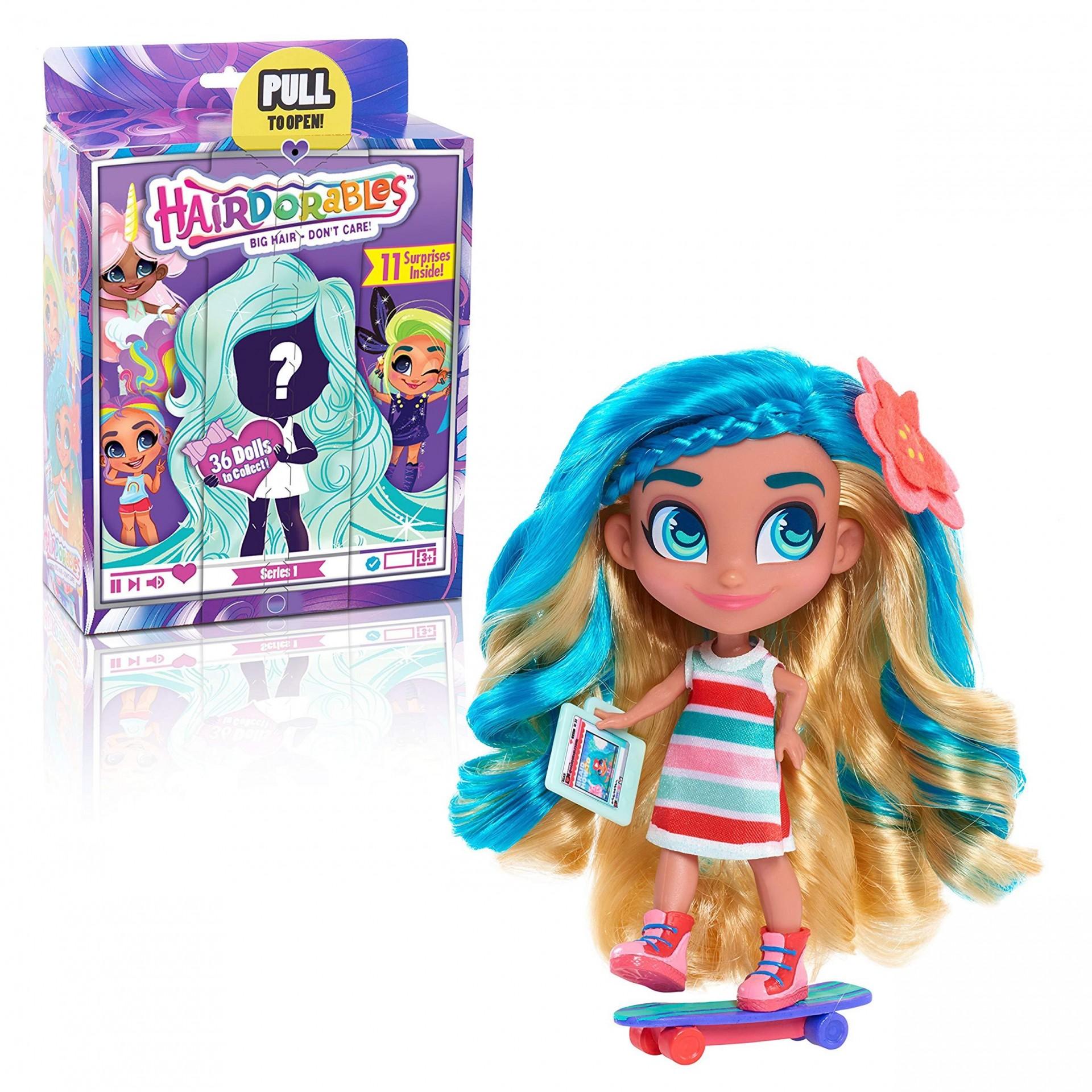 Купить Кукла Hairdorables серия 1 с аксессуарами от