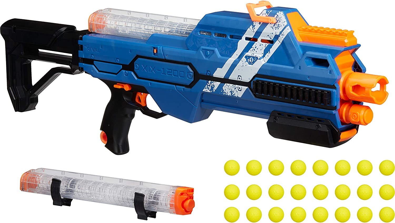 Купить Бластер Nerf Нерф Райвал Гипнос XIX-1200 синий   (Nerf Rival Hypnos XIX-1200 Blue) от