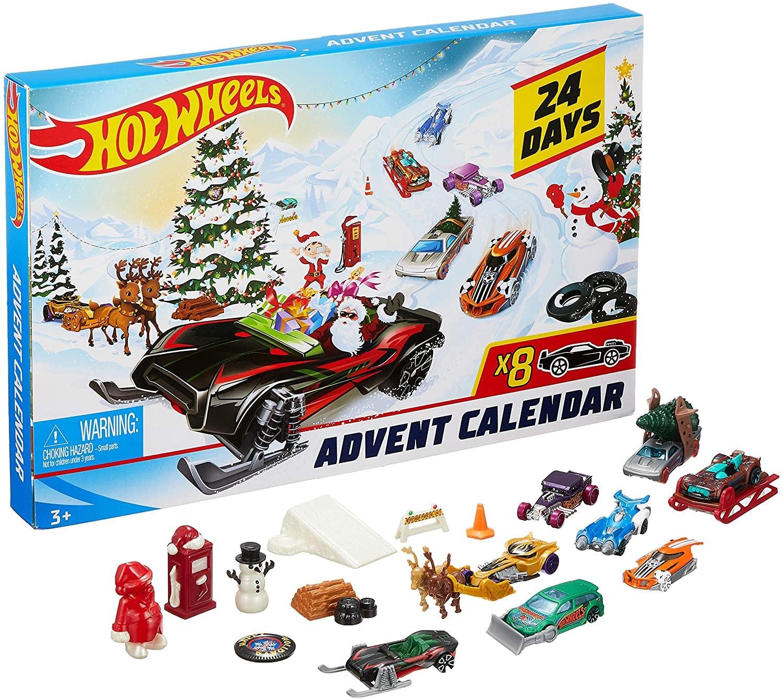 Купить Hot Wheels Хот Вилс Адвент Календарь 2019 (Hot Wheels Advent Calendar Vehicles) от