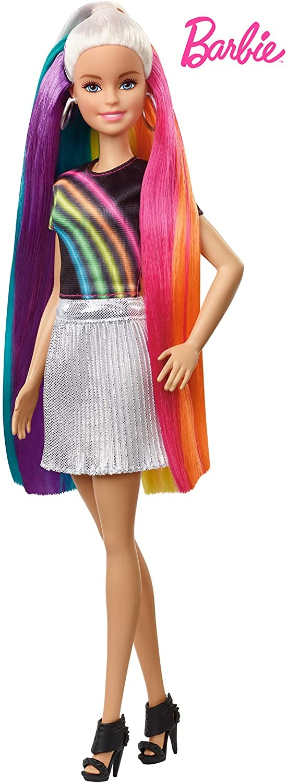 Купить Barbie Кукла Барби Радужная и сверкающая (Barbie Rainbow Sparkle Hair Doll) от