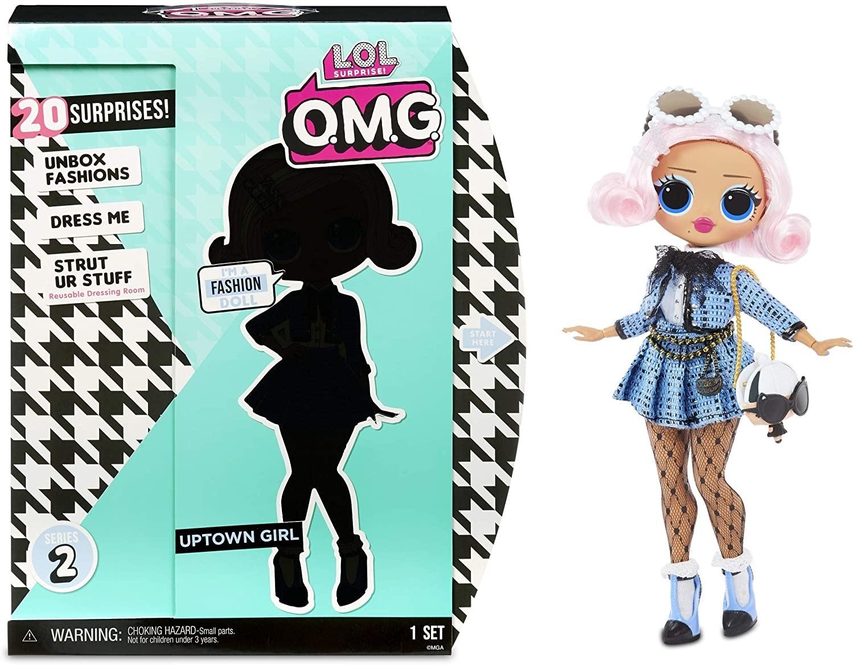 Купить Кукла ЛОЛ  L.O.L. Surprise! OMG 2.8-Uptown Girl от