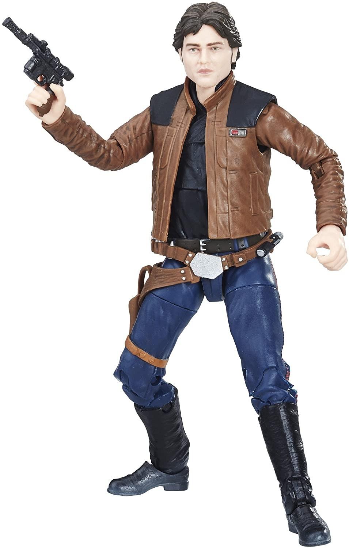 Купить Фигурка Хан Соло Звездные Войны  (Star Wars The Black Series Han Solo 6-inch Figure) от