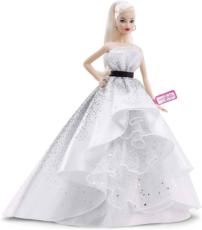 Купить Кукла Барби коллекционная Barbie 60th Anniversary Doll, Blonde от