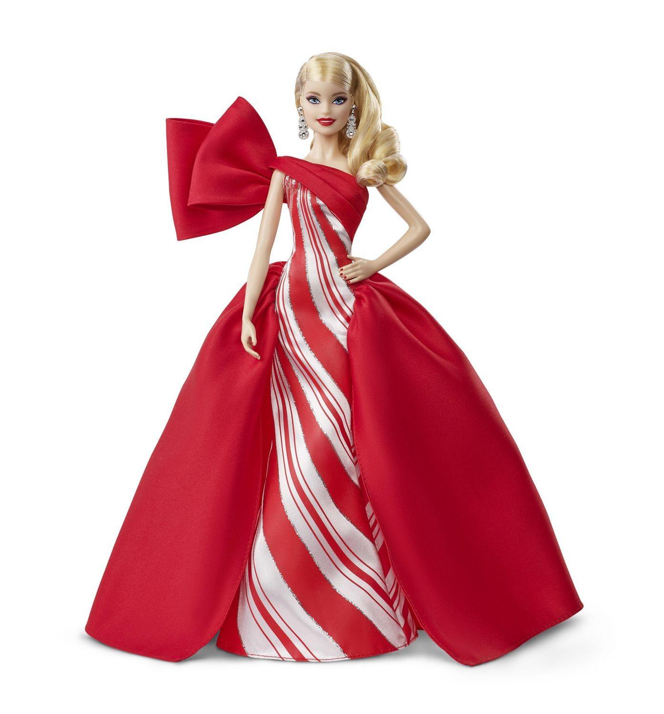 Купить Кукла Барби коллекционная Праздничная Barbie 2019 Holiday Doll, Blonde от