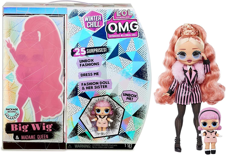 Купить Кукла ЛОЛ  Леди Стайл L.O.L. Surprise! O.M.G. Winter Chill Big Wig Fashion Doll & Madame Queen Doll от