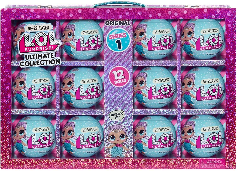 Купить ЛОЛ Сюрприз! Коллекция Мербеби -12 переизданных кукол Серия 1 (LOL Surprise! Ultimate Collection Merbaby) от
