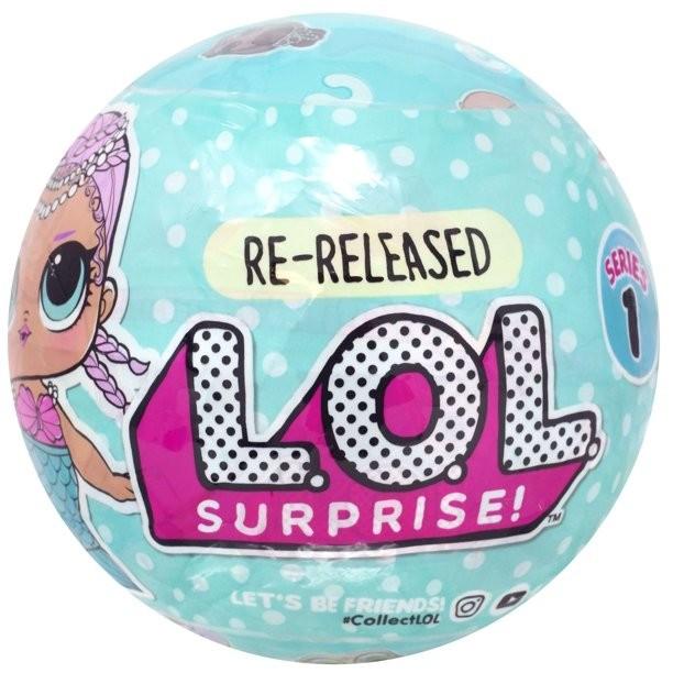 Купить Кукла ЛОЛ Мербеби 1 серия перевыпуск (LOL Surprise! Merbaby) от