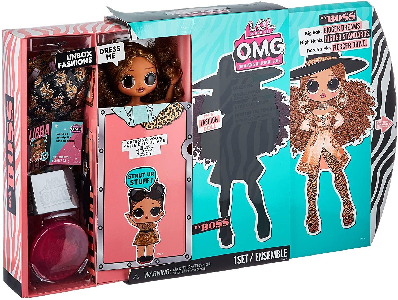 Купить Кукла ЛОЛ  3 серия Леди Да Босс (L.O.L. Surprise! O.M.G. Series 3 Da Boss Fashion Doll) от