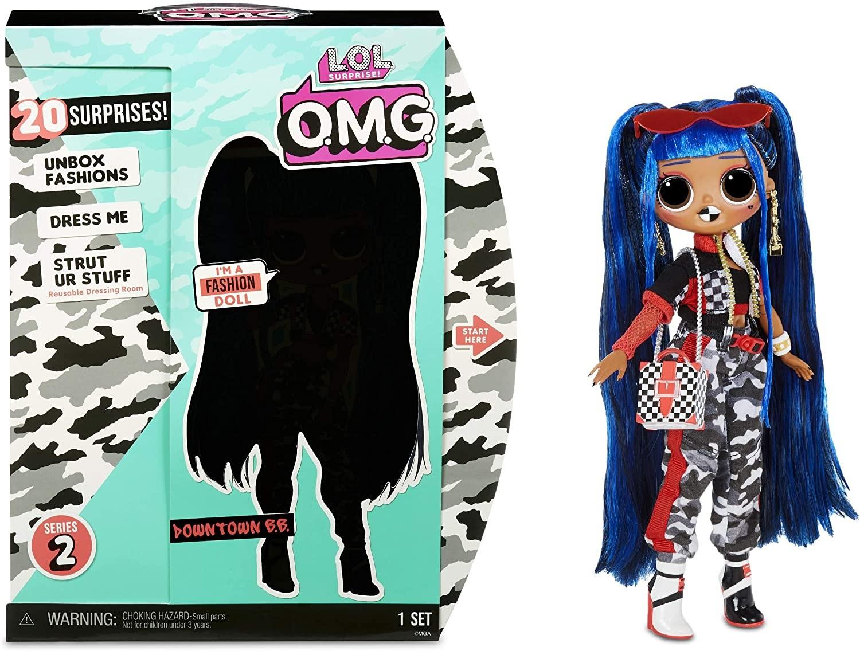 Купить Кукла ЛОЛ Сюрприз Даунтаун Биби (LOL Surprise OMG Downtown B.B. Fashion Doll with 20 Surprises) от