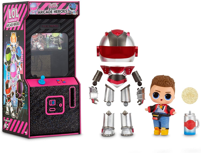 Купить Кукла ЛОЛ Герои Аркады Мальчики Роботы  (LOL Surprise! Boys Arcade Heroes Action Figure Doll) от