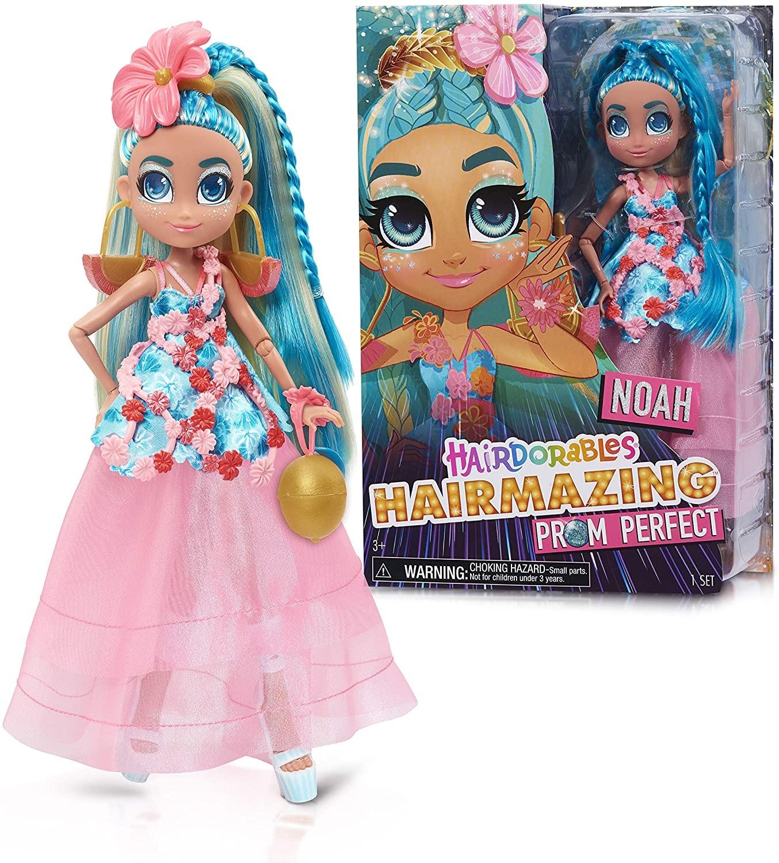 Купить Кукла Хэрдораблс Ноа Выпускной вечер ( Hairdorables Hairmazing Prom Perfect Fashion Dolls, Noah) от
