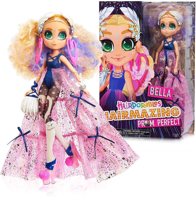 Купить Кукла Хэрдораблс Белла Выпускной вечер ( Hairdorables Hairmazing Prom Perfect Fashion Dolls, Bella) от