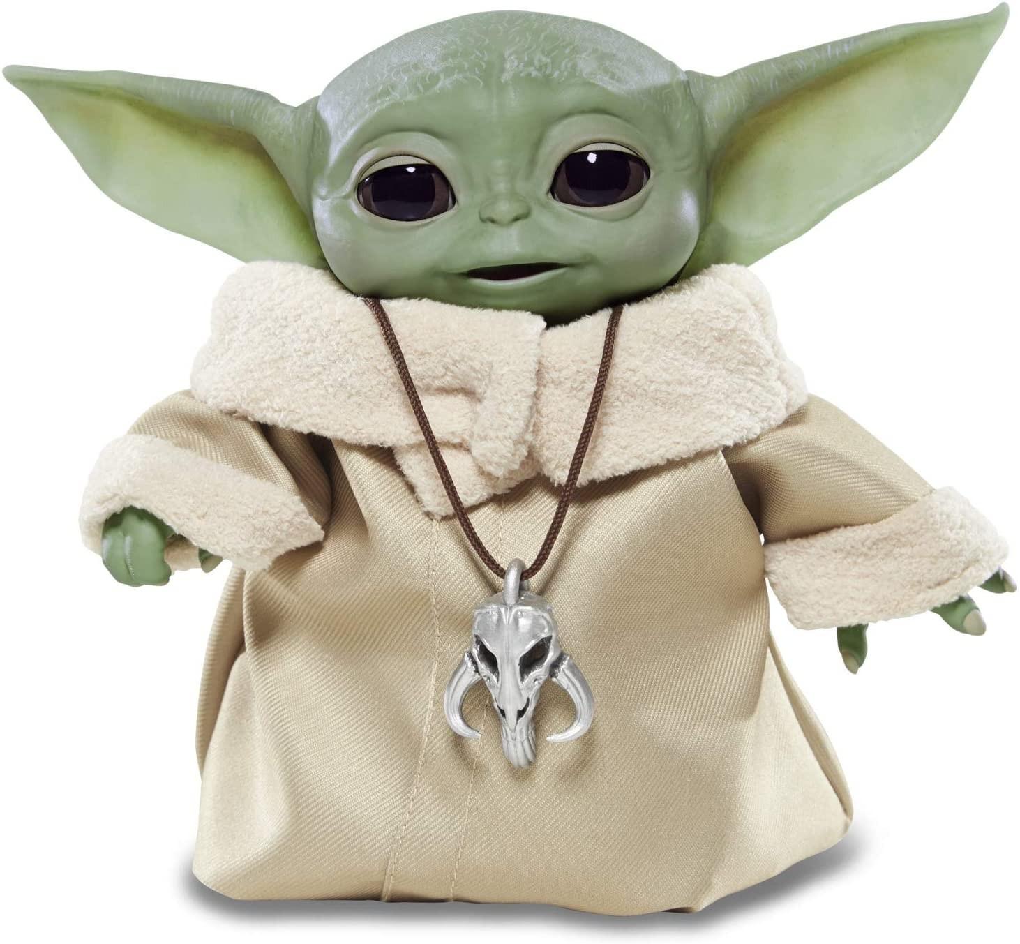 Купить Интерактивный Малыш Йода ГрогуЗвездные Войны Мандалорец (The Child Animatronic The Mandalorian Star Wars Hasbro) от