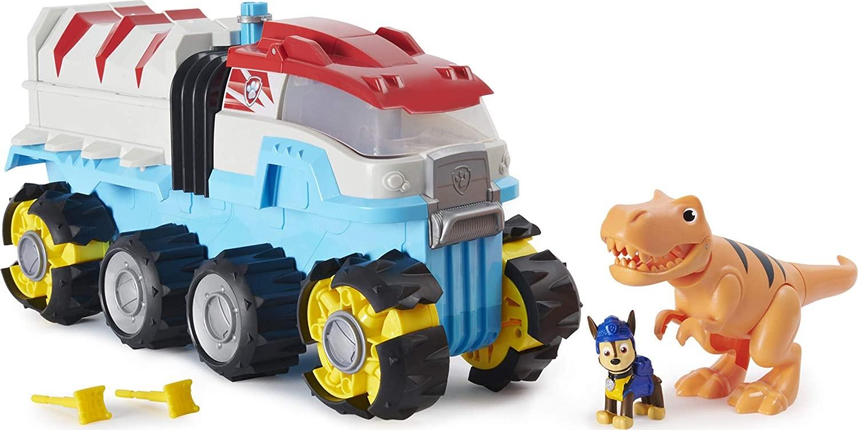 Купить Щенячий патруль Моторизированный Дино Вездеход  Paw Patrol Dino Rescue Dino Patroller Motorized Team Vehicle от