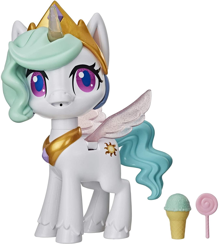 Купить Интерактивная Принцесса Селестия Волшебный Поцелуй  My Little Pony Magical Kiss Unicorn Princess Celestia от