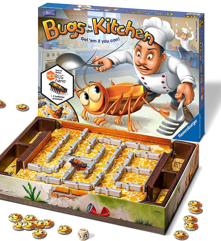 Купить Настольная игра Ravensburger Кукарача таракан на кухне  Bugs in the Kitchen от