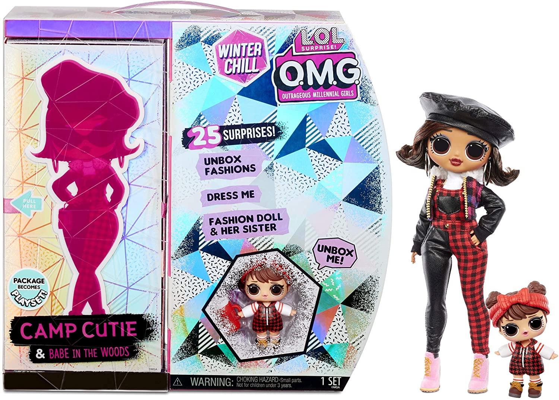 Купить Кукла ЛОЛ Сюрприз ОМГ Очаровашка L.O.L. Surprise! O.M.G. Winter Chill Camp Cutie Fashion Doll от