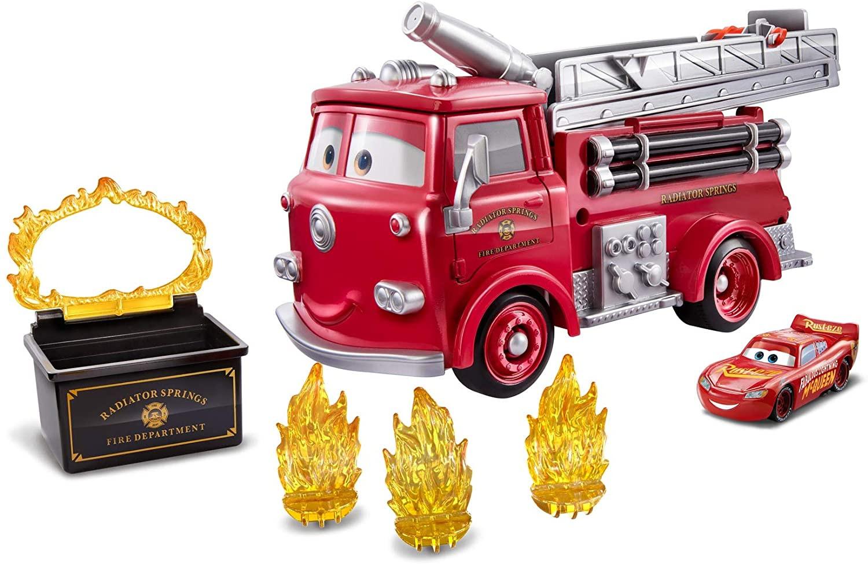 Купить Игровой набор Mattel Disney and Pixar Cars Stunt and Splash Red with Color Change Lightning McQueen от