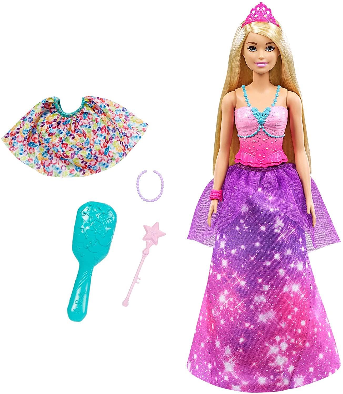 Купить Кукла Барби Принцесса русалочка перевоплощение Barbie Dreamtopia 2-in-1 Princess to Mermaid Fashion от