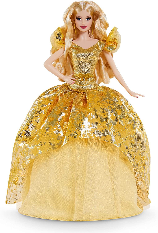 Купить Кукла Барби коллекционная Праздничная Barbie Signature Holiday 2020 Doll, Blonde от