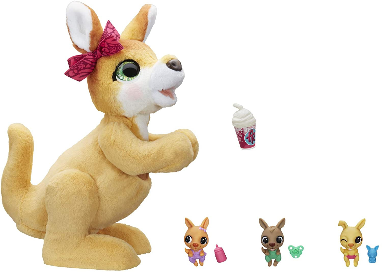 Купить Интерактивная игрушка кенгуру Мама Джози FurReal Mama Josie The Kangaroo Interactive Pet Toy от