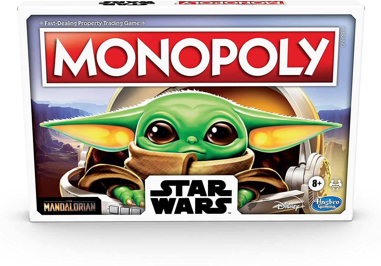 Купить Настольная игра Hasbro Monopoly Star Wars The Child Edition Board Game от
