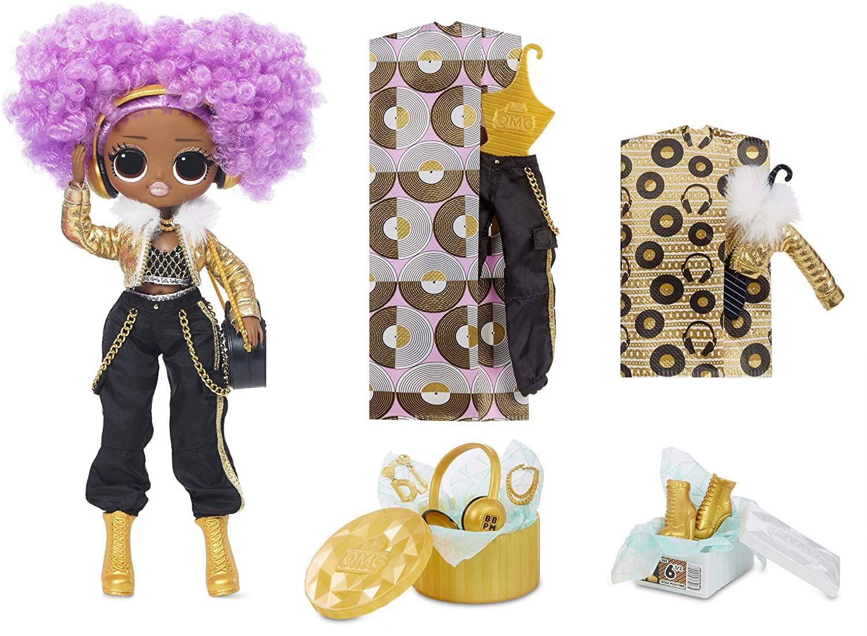 Купить Кукла ЛОЛ ОМГ Диджей LOL Surprise OMG 24K D.J. Fashion Doll with 20 Surprises от
