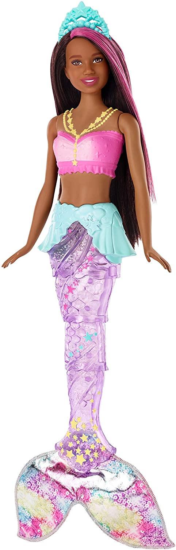 Купить Кукла Барби Мерцающая русалочка Дримтопия, мулатка (Barbie Dreamtopia Sparkle Lights Mermaid Doll) от