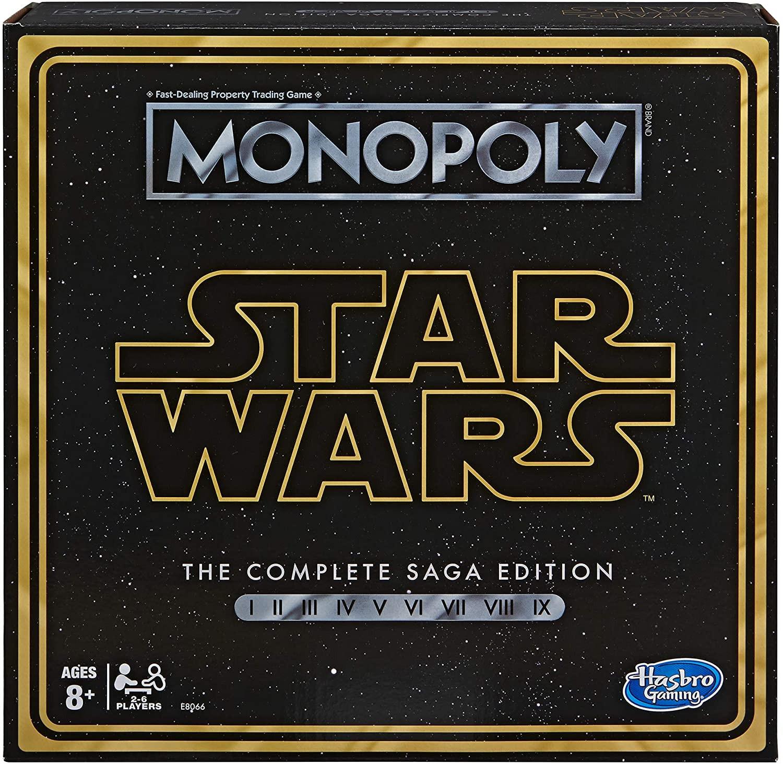 Купить Настольная игра Монополия Звездные Войны 9 эпизодов (Monopoly: Star Wars Hasbro E8066) от