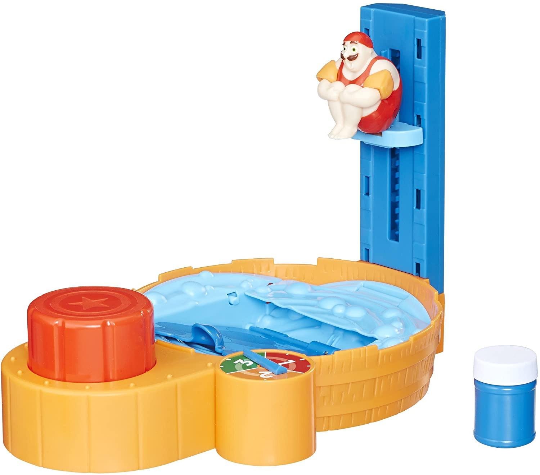 Купить Настольная игра Hasbro прыжок с трамплина в джакузи  Hot Tub High Dive Game от
