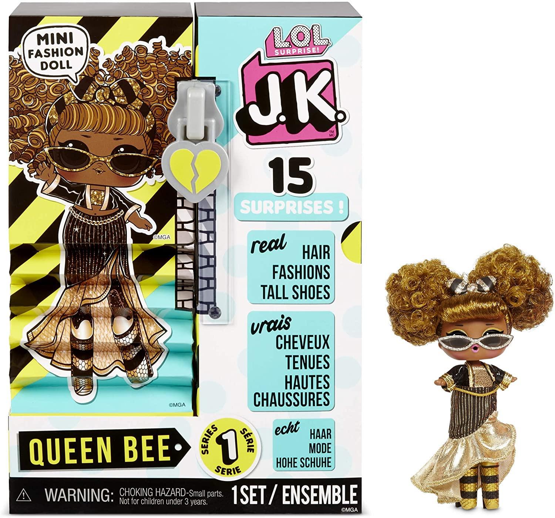 Купить Кукла ЛОЛ Сюрприз Королева Пчелка Мини (L.O.L. Surprise! JK Mini Fashion Doll Queen Bee) от