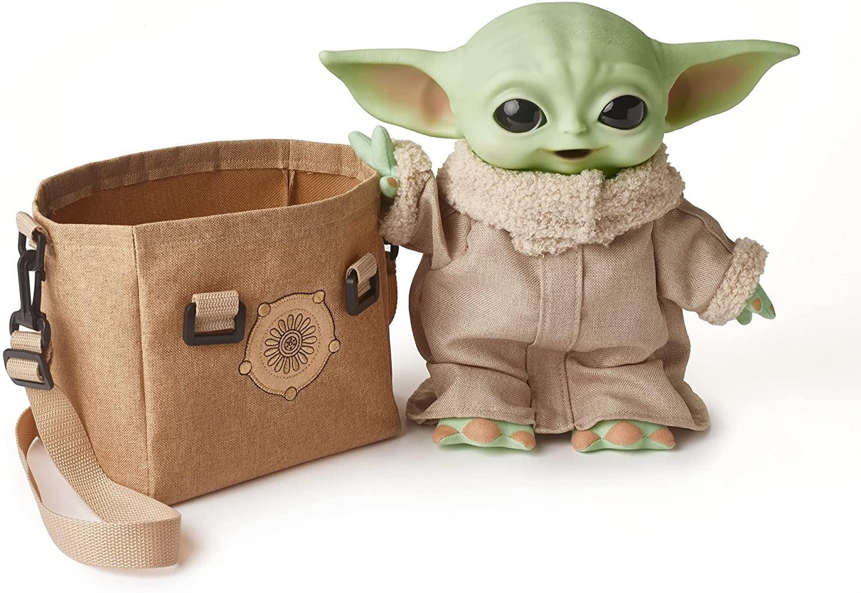 Купить Малыш Йода  Звездные войны Мандалорец со звуком Star Wars The Child Plush Toy from The Mandalorian от