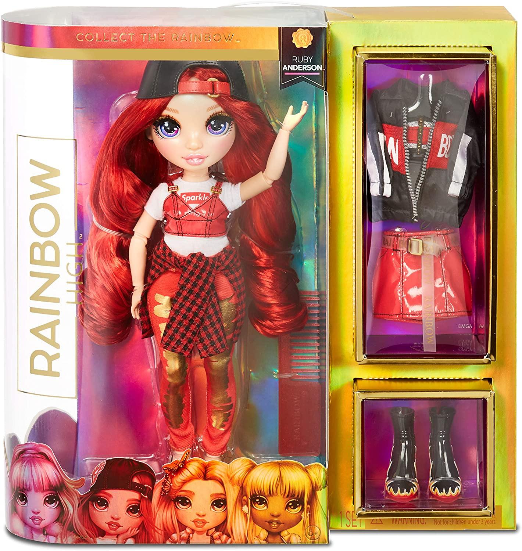 Купить Кукла Рейнбоу Хай Руби Андерсон Красная (Rainbow High Ruby Anderson) от