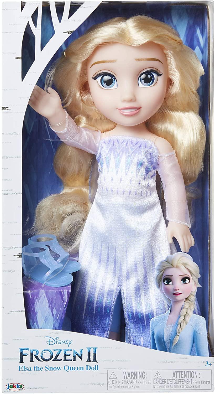 Купить Большая Кукла Эльза Холодное сердце 2 Снежная королева рост 35 см Disney Frozen 2 Elsa Doll Snow Queen Elsa от