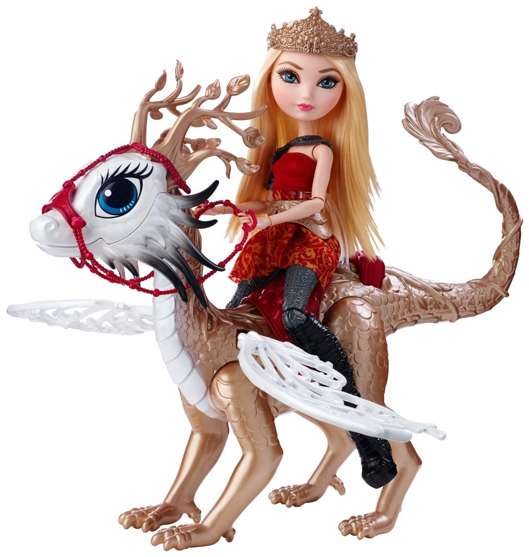 Купить Эппл Вайт и дракон Брэбёрн Игры драконов (Apple White Doll & Braebyrn Dragon Games) от