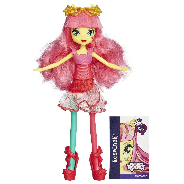 Купить Кукла Роузлак Девочки Эквестрии (My Little Pony Equestria Girls Rainbow Rocks Roseluck) от