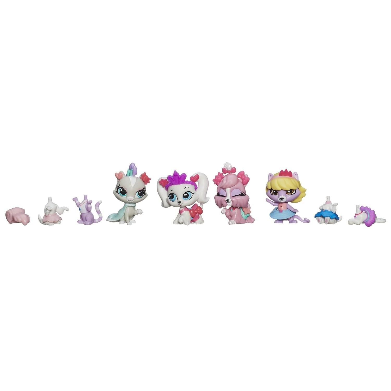Купить Набор Littlest Pet Shop 4 зверюшки с аксессуарами Hasbro (Литл Пет Шоп) от