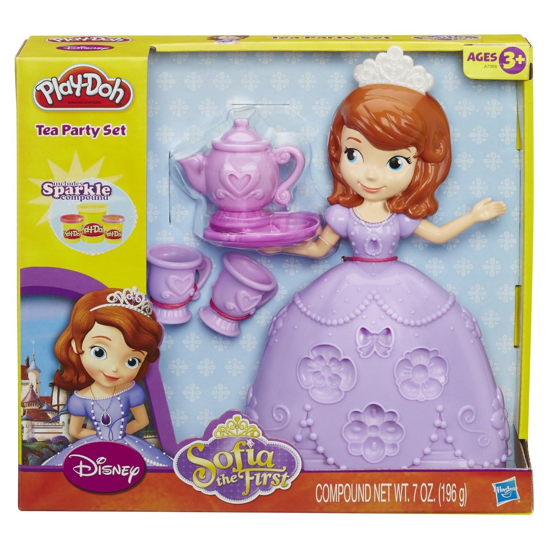 Купить Набор пластилина Play-Doh Чайная церемония у принцессы Софии Hasbro от