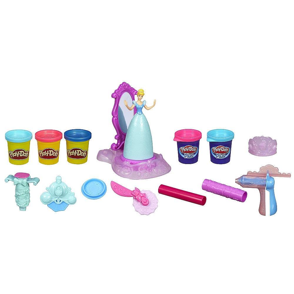 Купить Набор пластилина Play-Doh Золушка Hasbro от