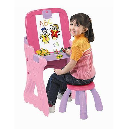 Купить Парта со стульчиком и настольным мольбертом Crayola от