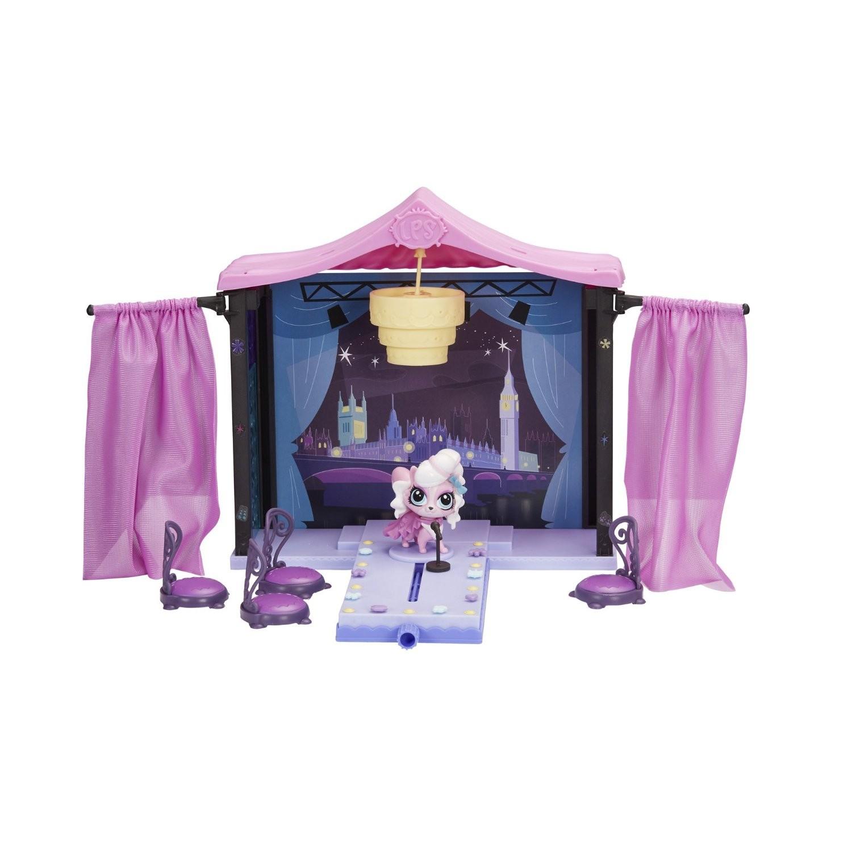 Купить Игровой набор Littlest Pet Shop Стильный подиум для показа мод Hasbro (Литл Пет Шоп) от