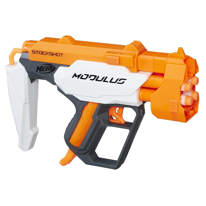 Купить Бластер Nerf  Модулус Стокшот C0391/C0389 (Nerf Modulus StockShot) от
